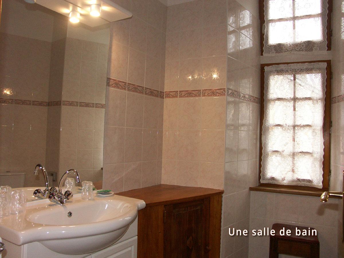 Salle-de-bain - Montagne du Haut Languedoc