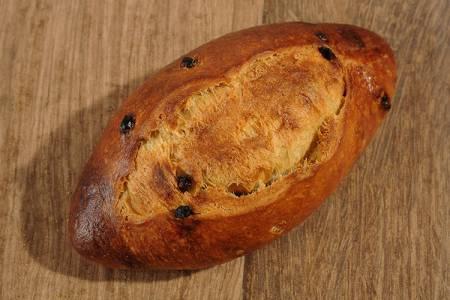 Paysans-boulangers de La Fajole brioche chocolat