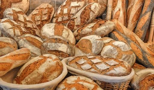 Paysans-boulangers de La Fajole autre assortiment de pains