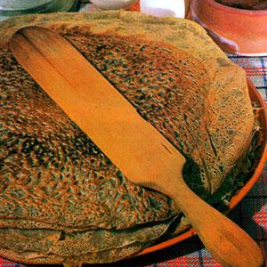 Cuisine traditionnelle de France. Recettes de galettes et tourtes