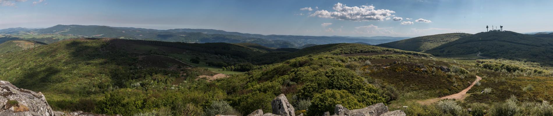 Monts de Lacaune Montalet vue sud