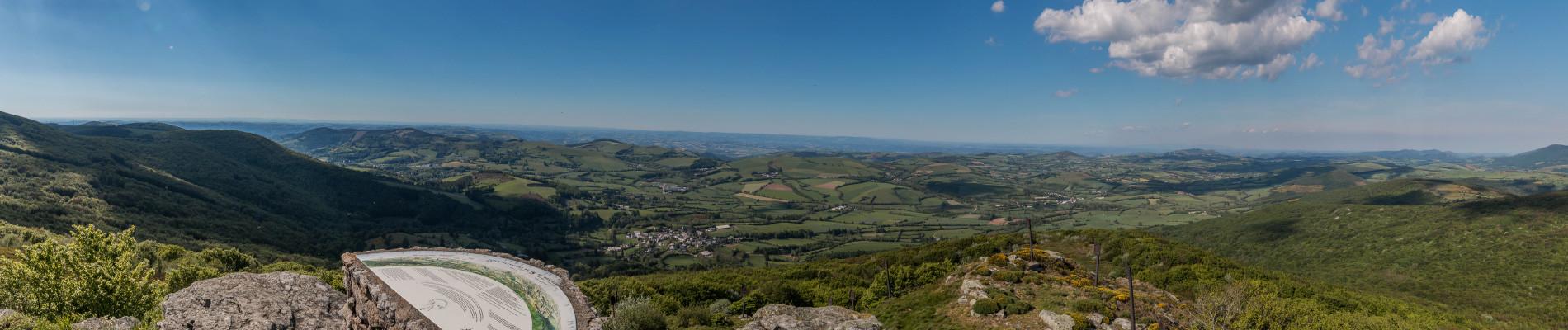 Monts de Lacaune Montalet versant Nord