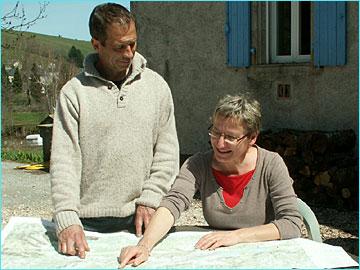 Chambres d'hôtes Etape des Menhirs Murat sur Vèbre Tarn. Les propriétaires