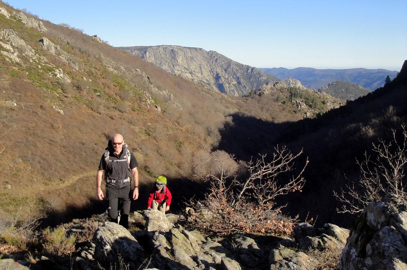 Loisirs en Haut Languedoc. La randonnée