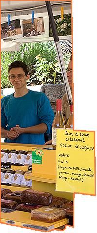 Alain Merit apiculteur La Salvetat sur Agoût. Boutique fils