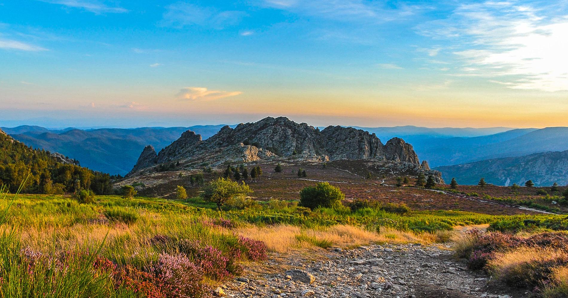 Montagne du Haut Languedoc. Caroux slider