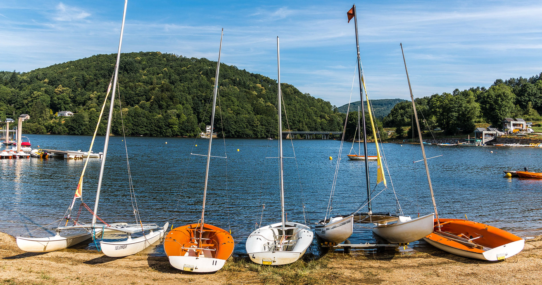 Montagne du Haut Languedoc. Lacs slider