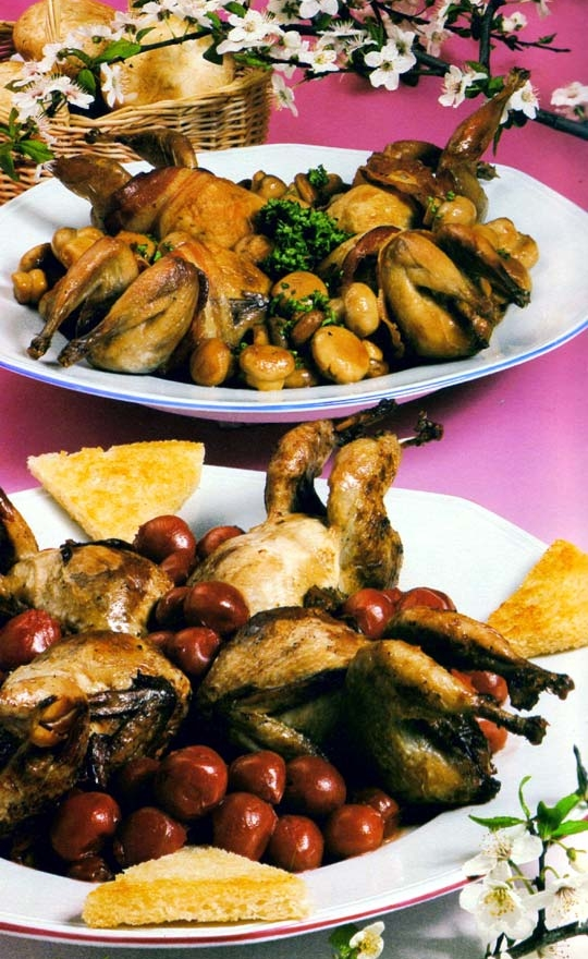 Recettes de cailles en cuisine traditionnelle de france - Recette cuisine thailandaise traditionnelle ...