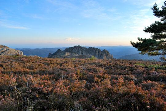 Pays du Haut Languedoc. Le massif du Caroux