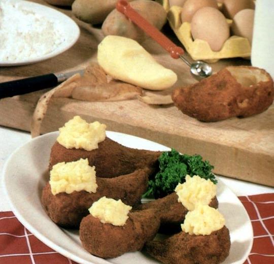 Recettes de pommes de terre rôties. Cendrillon