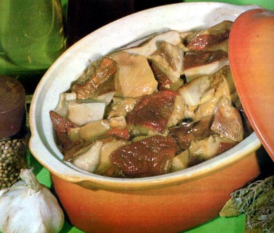 Recettes de champignons. Cèpes en marinade