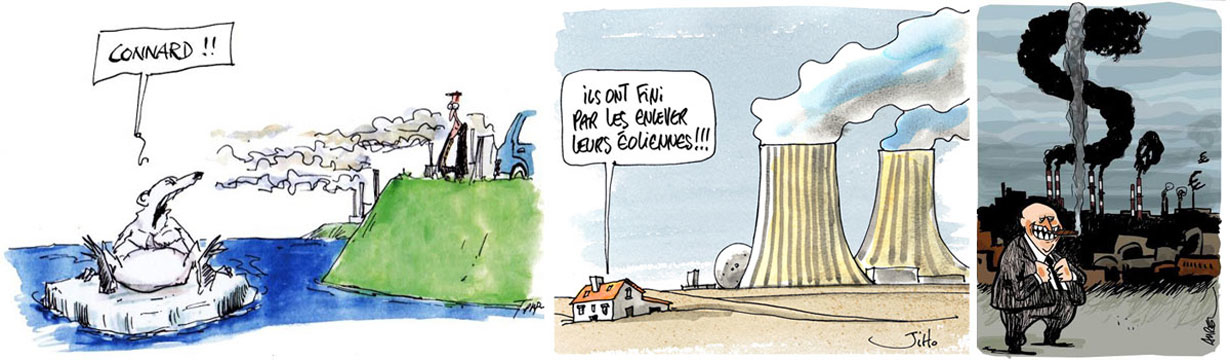 Conseils environnement. Dessins COP21