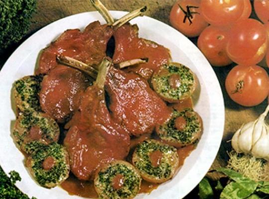 Recettes de côtes de porc. Côtes de porc à la provençale