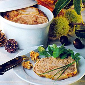 Cuisine traditionnelle de France. Recettes de terrines