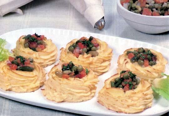 Recettes de gratin de pommes de terre. Les pommes de terre duchesse