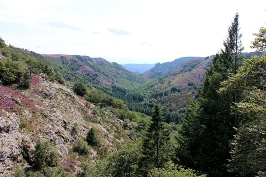 Pays du Haut Languedoc. L'Espinouse