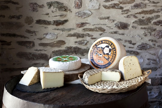 Fromages des MOnts de Lacaune. Laiterie Fabre Frères. Deuxième choix de fromages