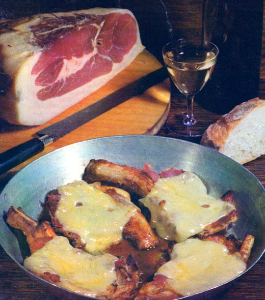 Côtes de veau à la jurassienne