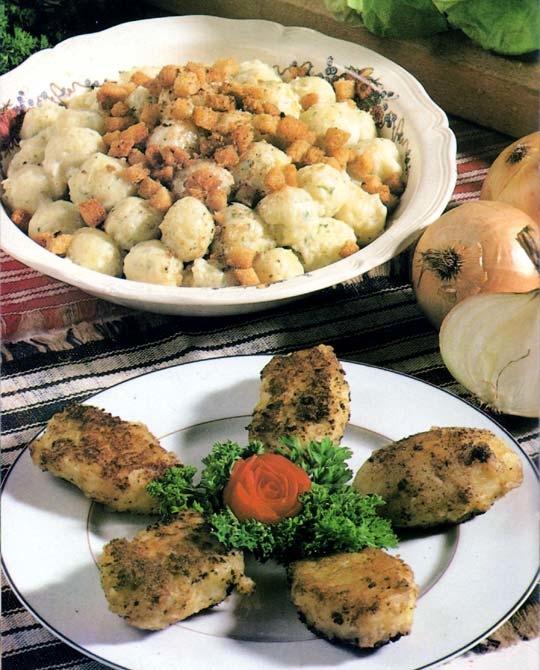 Recettes de gratin de pommes de terre. Les gnocchis