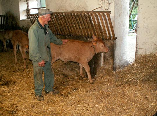 Eric Grousset boucher-charcutier La Salvetat sur Agoût. Fournisseur régional