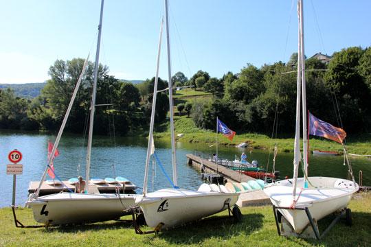 Pays du Haut Languedoc. Les lacs