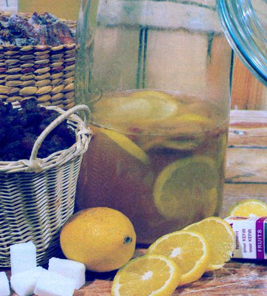 Recettes de jus de fruits. Kefir