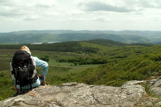 Pays du Haut Languedoc. Les monts de Lacaune