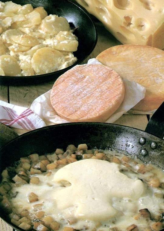 Recettes de pommes de terre sautées. Au munster