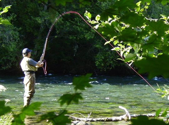 Loisirs en Haut Languedoc. La pêche