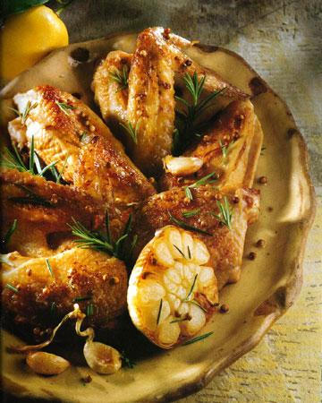 Recettes de poulet. Poulet mariné aux graines de citron