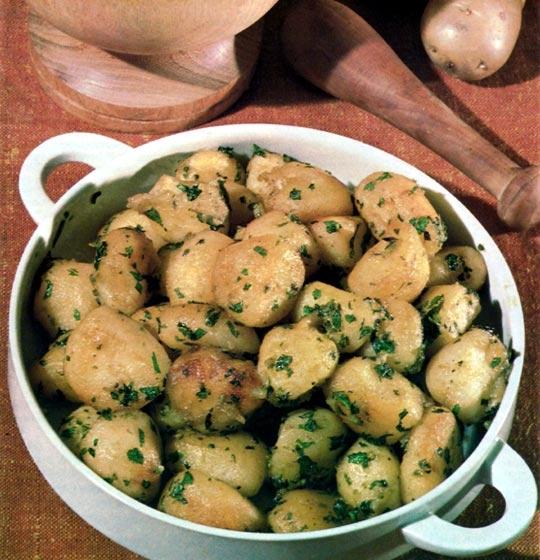 Recettes de pommes de terre sautées. A la provençale