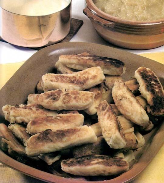 Recettes de gratin de pommes de terre. Les quenelles