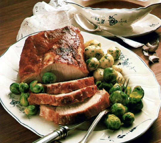 Recettes de rôti de porc. Rôti de porc à la bière