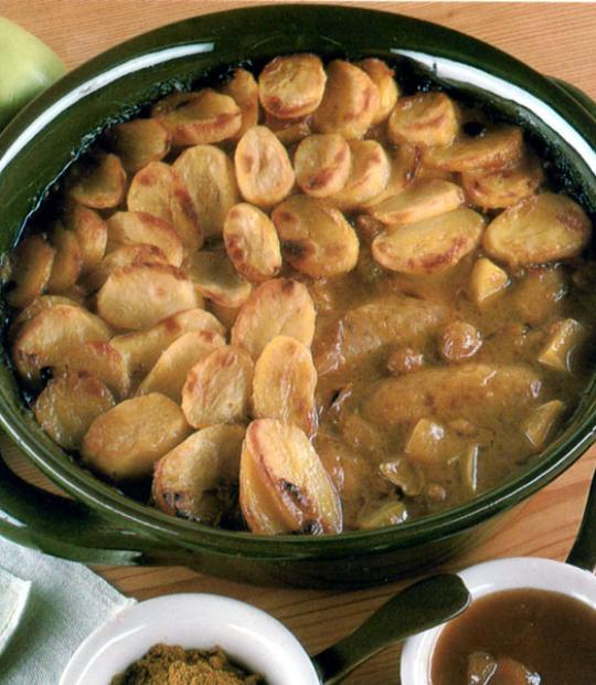 Recettes de saucisses de porc. Saucisses aux pommes