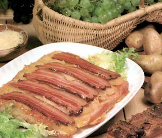Recettes de gratin de pommes de terre. Pommes de terre à la vendangeur