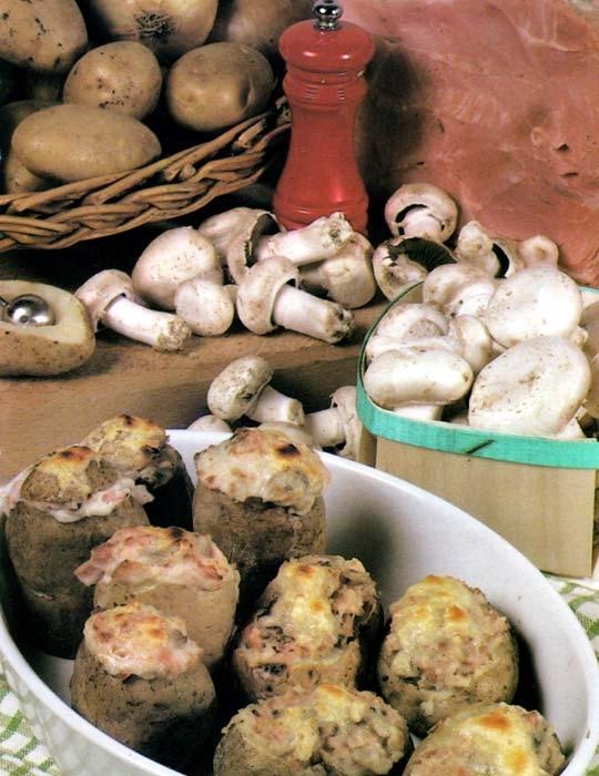 Recettes de pommes de terre farcies. York
